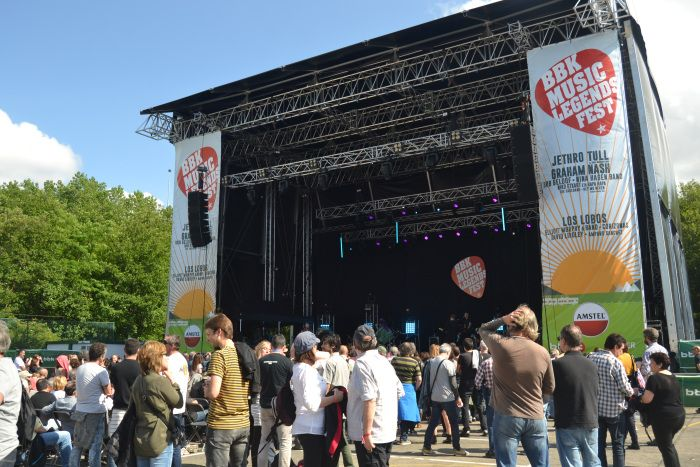 Escenario del BBK Music Legends Fest 2016