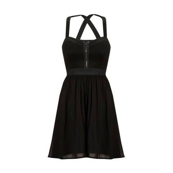 Schwarzes kleid von tally weijl