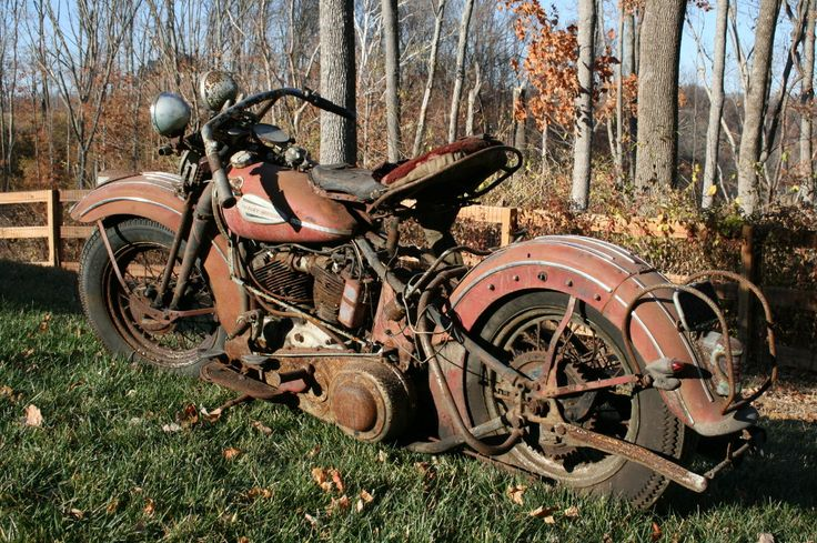 1940 Knucklehead Quot Barn Find Quot Automotive World Amp Misc