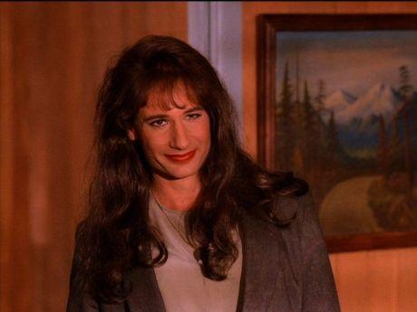 David Duchovny as Denise/Dennis Bryson in Twin Peaks