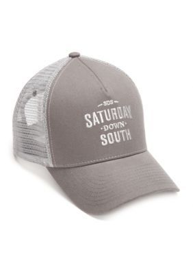Saturday Down South GraySteel Saturday Down South  Mesh Trucker Cap