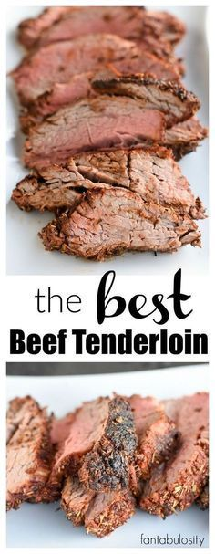 WOW!! This is the BEST Beef Tenderloin Recipe and meat rub recipe around! http://fantabulosity.com