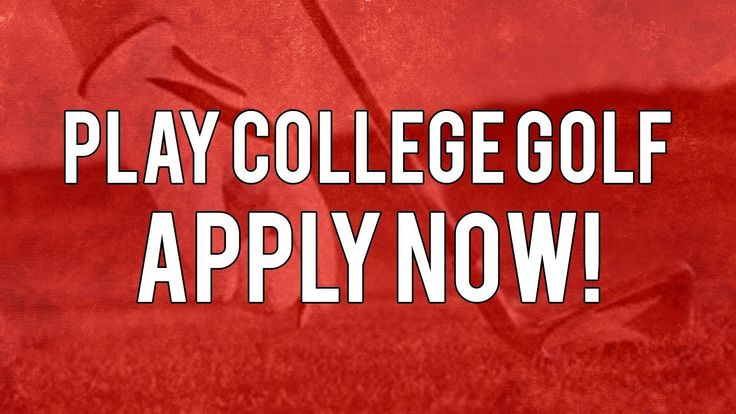 College Golf Recruiting  Apply Now!  Golf Recruiting