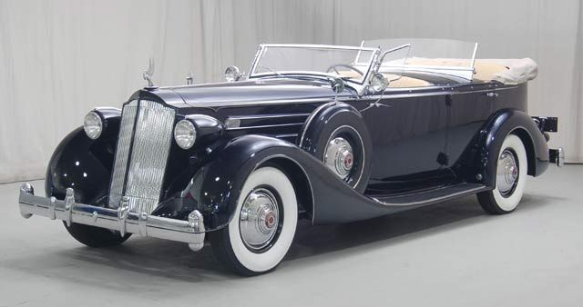 1936 Packard Twelve Dual Cowl Phaeton