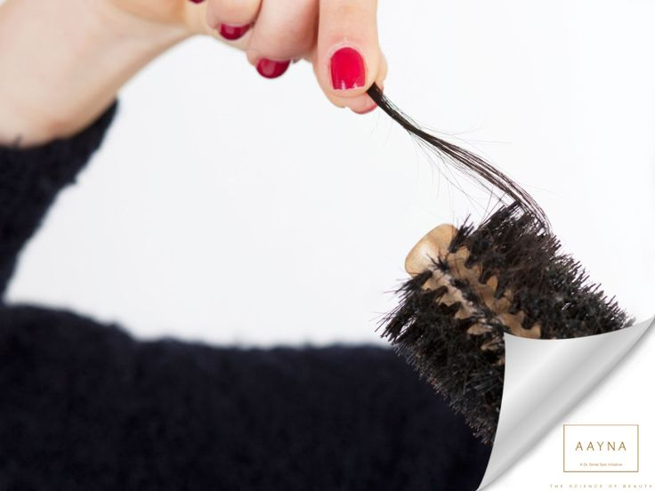 Hair fall troubling you?  Book an appointment with us to get your queries answered: http://www.aaynaclinic.com/treatments/cosmetic-dermatology/hair-treatments.html  or call us- +91-7042297304.