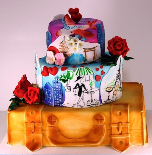 viorica's cakes: Calatorie in jurul lumii