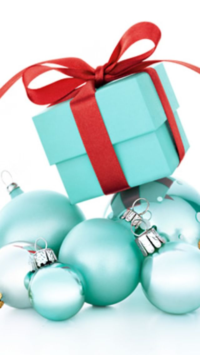 Tiffany And Co Christmas Ornaments Part - 50: Tiffany Christmas Tree With Red!