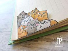 Cat Bookmark Art Impressions Tombow JPriest