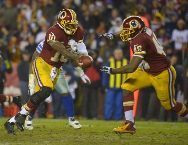 Redskins vs. Cowboys - Redskins win the NFC East!
