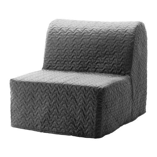 LYCKSELE MURBO Sillón cama IKEA Colchón firme y confortable de espuma para usar todos los días.