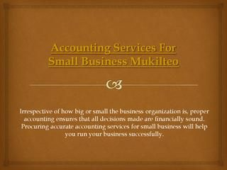 Accounting services for small business mukilteo  Visit this site http://yourbalancesheetllc.com/ for more information on Accounting Services For Small Business Mukilteo. As you engage the services of a firm specializing in Accounting Services For Small Business Mukilteo, you will realize that maintaining some form of order for your accounting needs allows you to focus on the more urgent needs of business operations. Proper bookkeeping is like good housekeeping; neat books, like a neat…