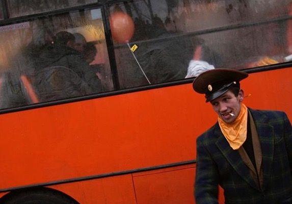 "The ""Orange Revolution "" Kiev, Ukraine, 2004 © Thomas Dworzak/Magnum Photos"