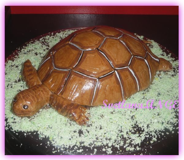 Рецепт торт черепаха или черепашка