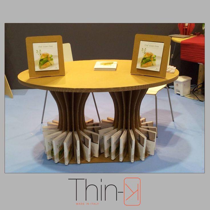 home design by www.thin-k.it cartonboard table  tavolo in cartone