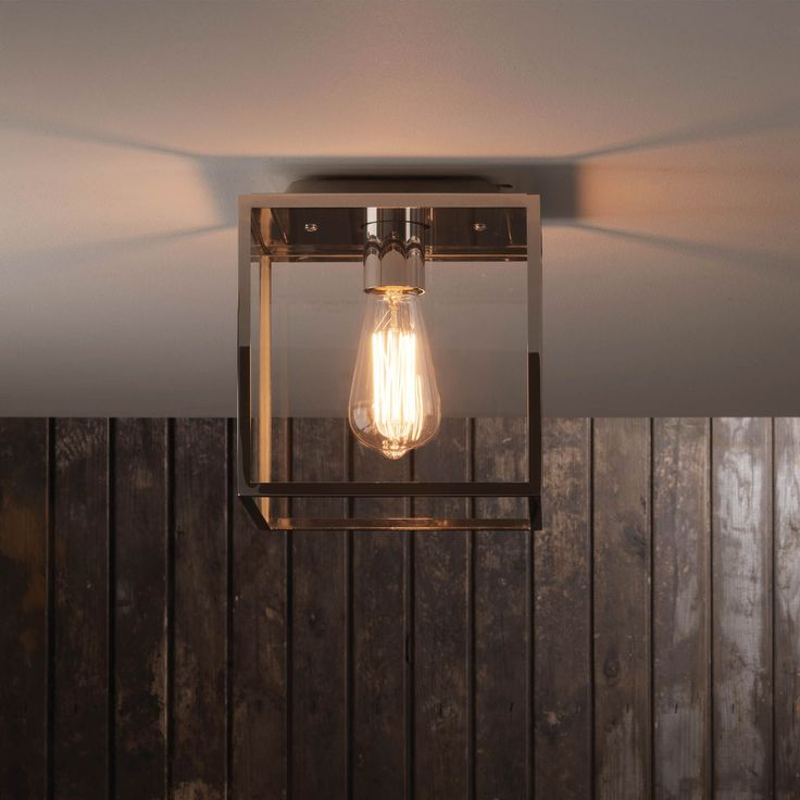 The Box exterior ceiling light by Astro Lighting