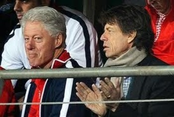 Mick Jagger - Arsenal Fan