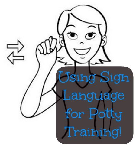 We found sign language to be a really  helpful tool during potty training. Here are some tips and basic signs to get you started to hopefully to finish potty training sooner!