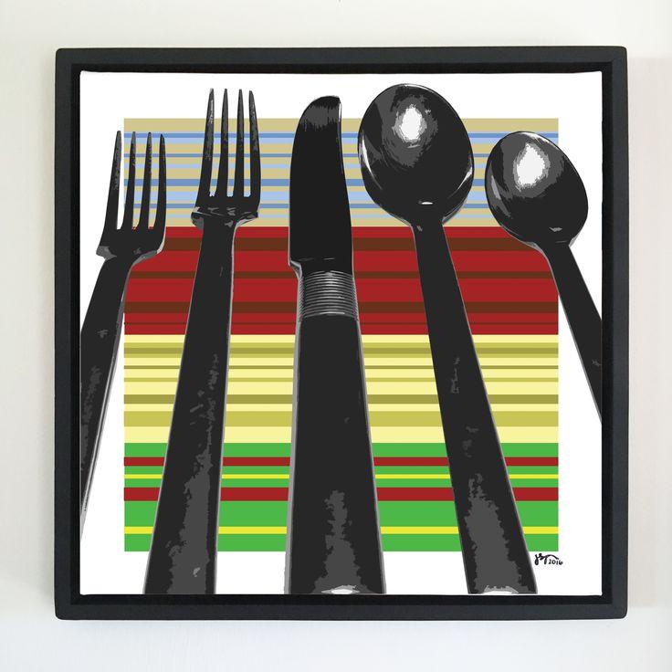 """Overflow series: """"Be Proper"""" art. 24 x 24 inch, digital art & gloss and matte gel on stretched canvas. 26.5 x 26.5 inch, float frame - black flat. ---------------------------------------- #popart #popartist #digitalart #art #artist #contemporaryart #colorfield #abstractart #gloss #matte #art #canvas #jonsavagegallery"""