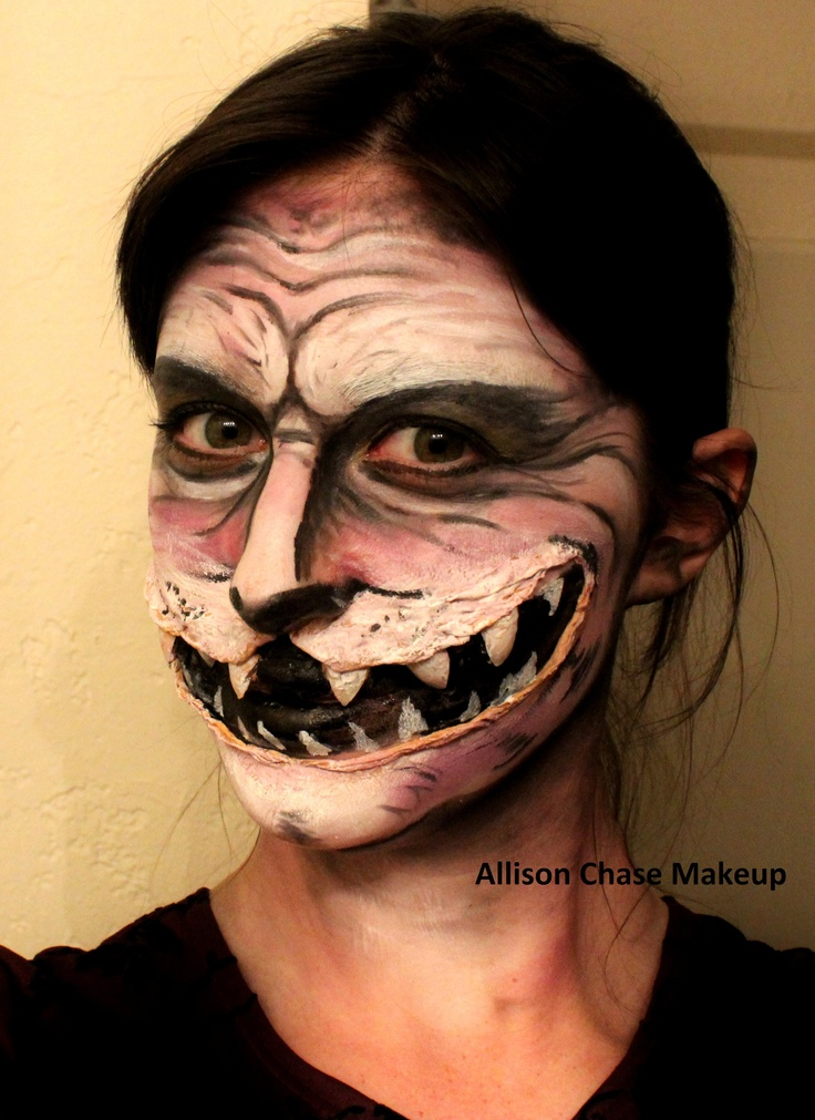Cheshire Cat Makeup Halloween