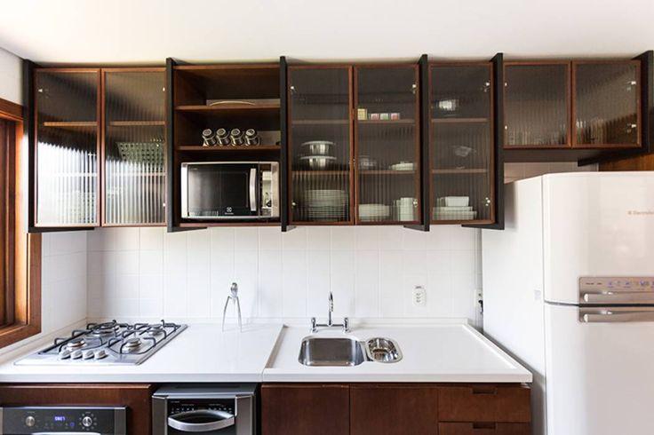 Projekty, Industrialny Kuchnia zaprojektowane przez Ateliê 7 arquitetura e…