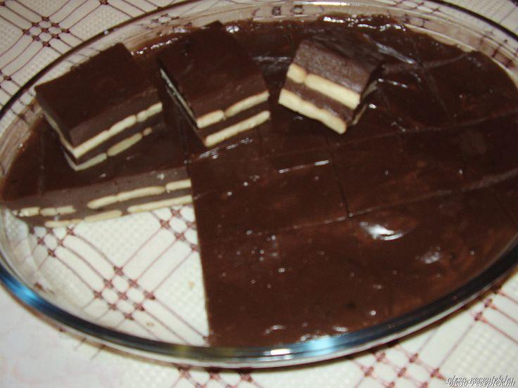 A legjobb Csokis kekszes édesség recept fotóval egyenesen a Receptneked.hu gyűjteményéből. Küldte: Kériné Szabó Anikó