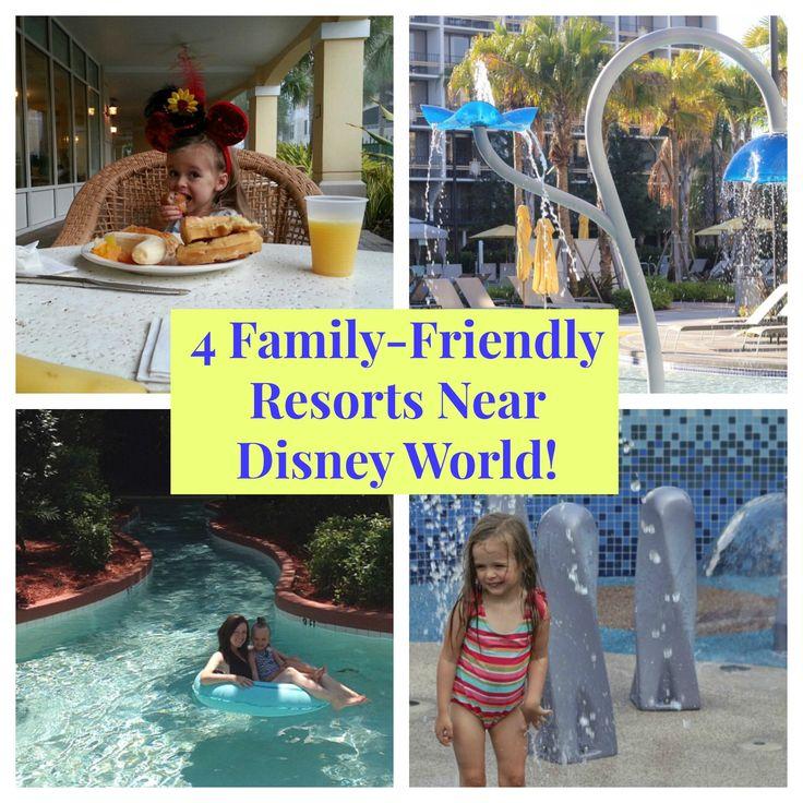 4 Family-Friendly Hotels Near Disney World That Are Perfect For Spring Break! #familytravel