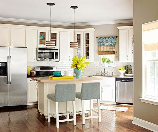 on a budget bright kitchens dream kitchens white kitchens kitchen
