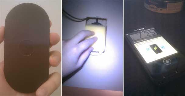 Scrivania con caricabatterie wireless integrato… artigianale!