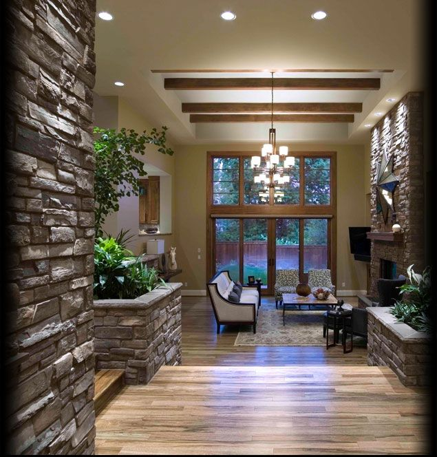 Cultured Stone Hudson Bay Country Ledgestone Interior