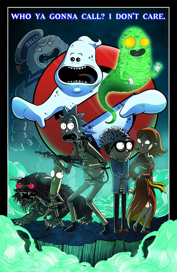 Rick and Morty Crossovers byjoehoganart - Imgur