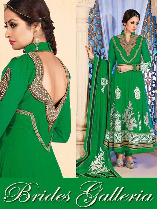 Luxury Embroidered Indian Suits 2014 by Brides Galleria 1 Luxury Embroidered Indian Suits 2014 by Brides Galleria