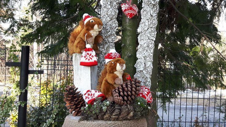 Dekoracja -Wiewiórka Baśka-