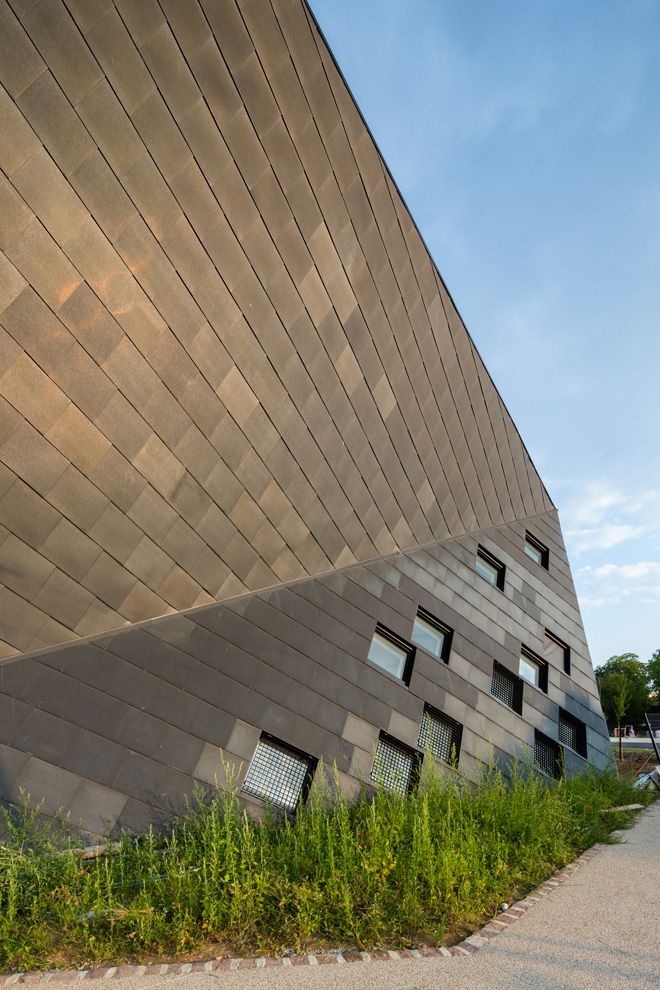21 cultural center in mulhouse by paul le quernec architect Cultural Center in Mulhouse by Paul Le Quernec