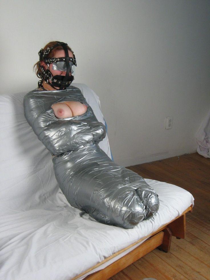 Blindfold bondage duct tape — pic 1