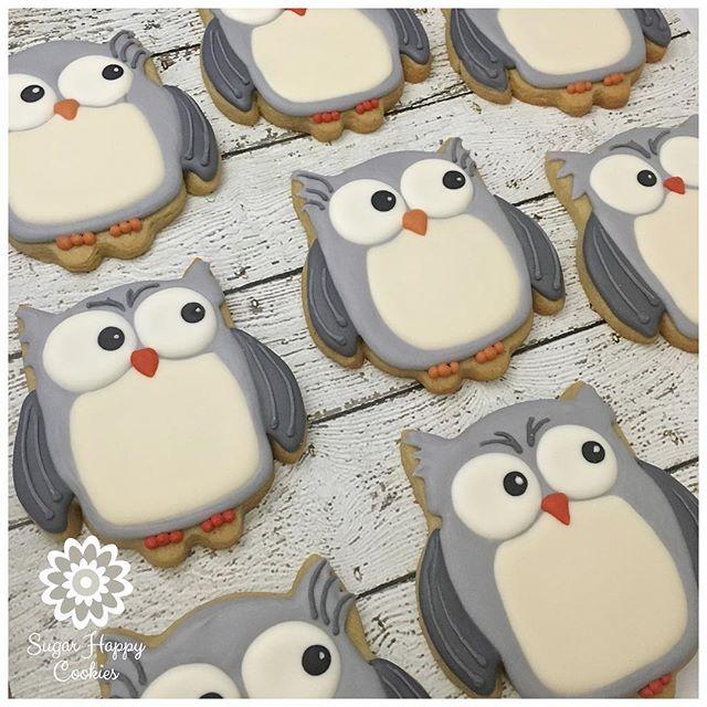 Owl Cookies                                                                                                                                                                                 More