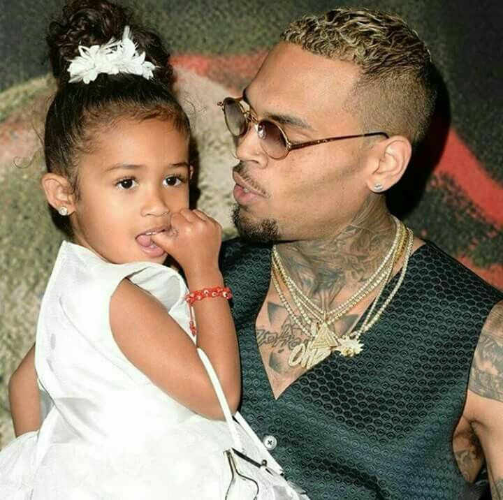 Royalty and Chris Brown so adorable together.
