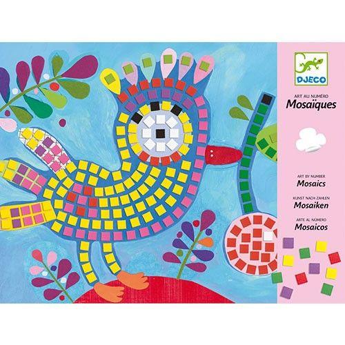 Djeco knutselpakket mozaiek, bij Zoethout Hattem