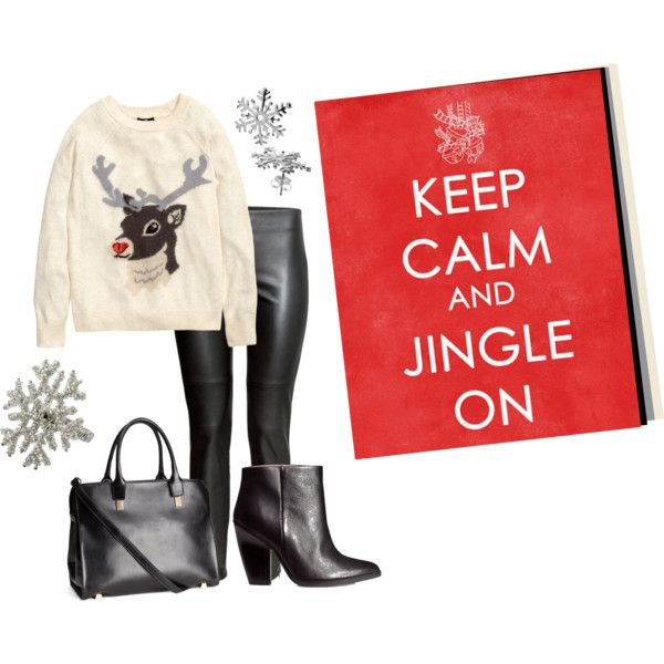 """Jingle Bells"" by yvonwouters on Polyvore"