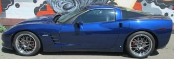 2007 - Corvette LT1 Coupe - Targa Top - 542hp! -