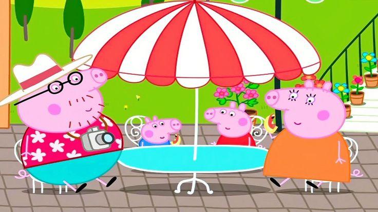 ✿Свинка Пеппа Peppa Pig Мороженое и Пицца для Свинки Пеппы Мультфильм Иг...