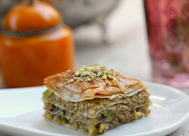 Baklava, dulce árabe tradicional | #Recetas de cocina | #Veganas - Vegetarianas ecoagricultor.com