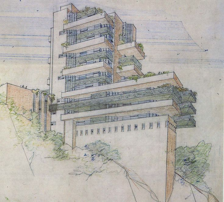 Frank Lloyd Wright Drawings | that you enjoyed this series on Frank Lloyd Wright and the drawings ...