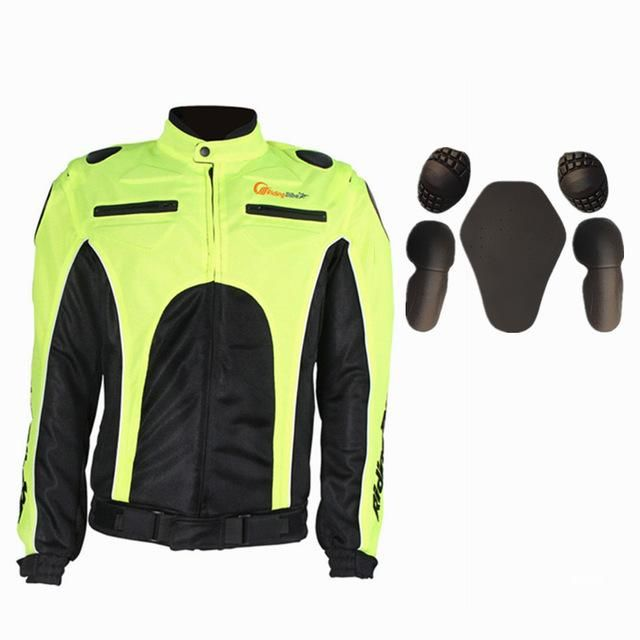 Riding-Tribe Men's Summer Motorcycle Jacket Motocross Protective Gear Auto Racing Coat Off Road Clothing Outdoor Sportswear