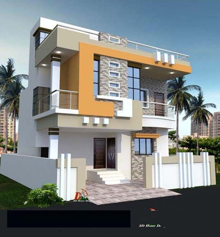 Stylish Design Trends For Modern Apartments Duplex House Design House Front Design Modern House Exterior