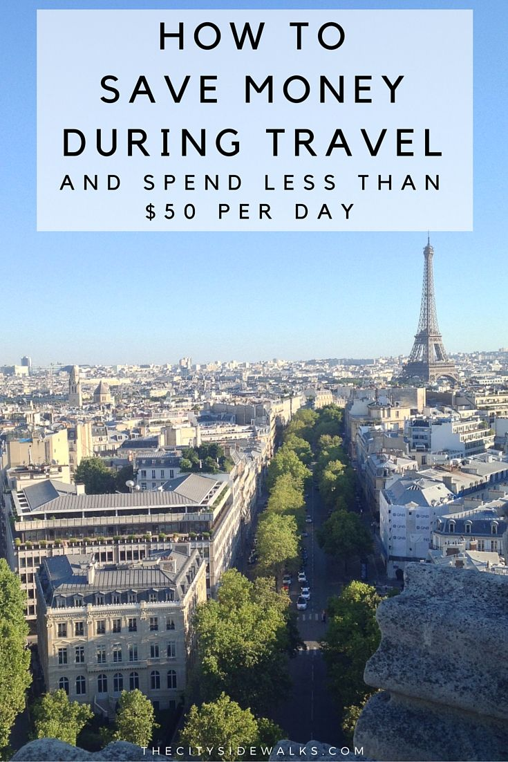 How good at saving money during travel are you? Can you spend less than $50 per day? Less than $30? Check out these tips that will help you save money during travel so that you never have to hit the ATM during your trip. Because let's face it: the ATM is a buzzkill.
