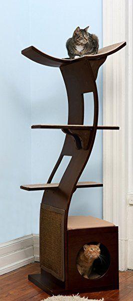 Great Cat Tree Condo Furniture High Reviews | Leatherwood Design