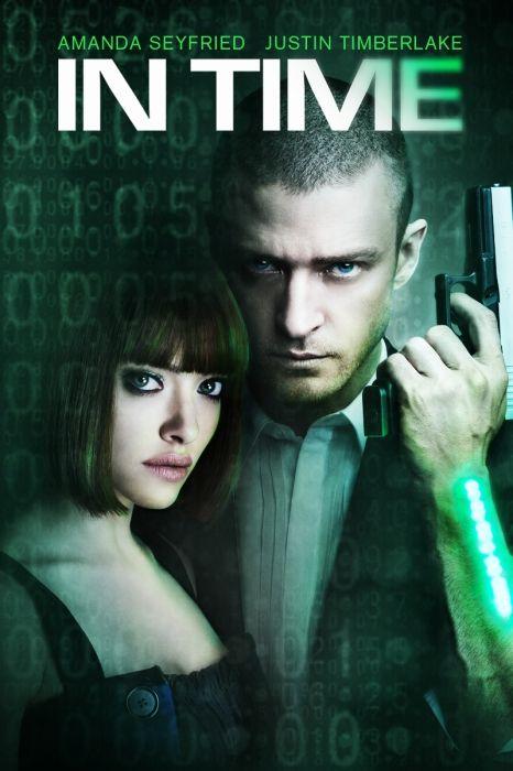 In Time Movie Poster - Justin Timberlake, Amanda Seyfried