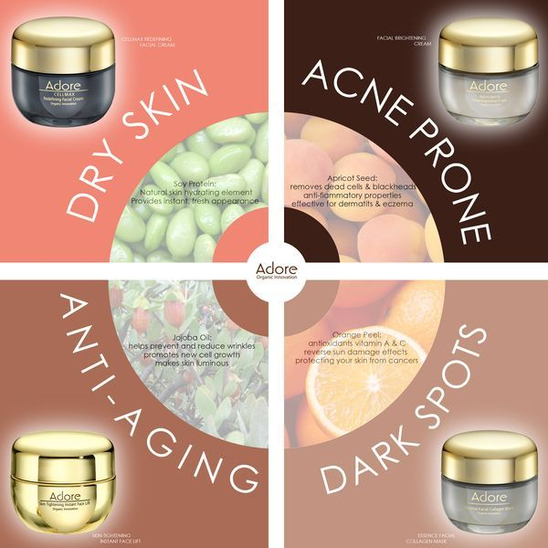 Adore Organic Innovation Offers A Complete Range Of Organic Skin Care Products At An Affordable Cost We Have A Cleanser And Toner Skin Care Organic Skin Care