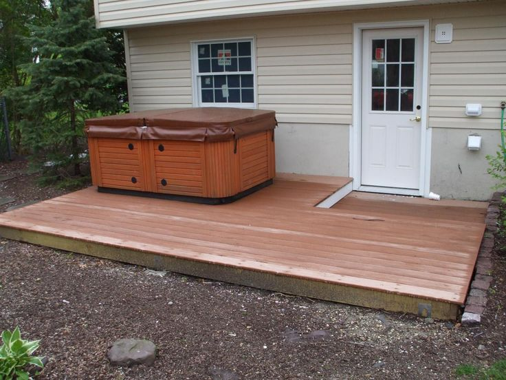 Hot Tub Deck Designs Ideas | Deck Designs With Hot Tub | Joy Studio Design Gallery - Best Design