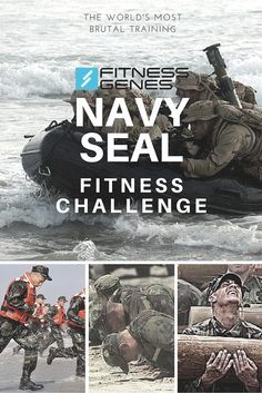 Could you cut it as a Navy Seal? - Try out the Navy Seal Fitness Challenge! One of the most demanding, and toughest training programs in the world. Push your DNA to the limits! www.fitnessgenes.com